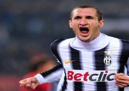 إيقاف الايطالى كيليني 3 مباريات فى الكالتشيو