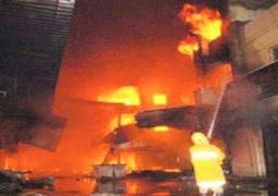 السيطرة على حريق بمبنى محافظة البحيرة دون خسائر بشرية