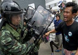 قائد الجيش التايلاندى يدعو الاطراف المتناحرة لتسوية الازمة