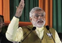 """حزب """"بهاراتيا جاناتا"""" الهندى يعلن رسميا اختيار مودي لرئاسة الحكومة الجديدة"""