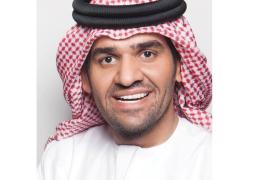 """حسين الجسمي يهدي """"بشرة خير"""" للسيسي"""