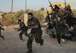 انفجار يقتل 30 من المقاتلين في صفوف الحكومة في إدلب