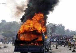 ضبط 9 متهمين بإقتحام وحرق أقسام شرطة المنيا