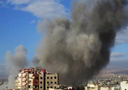 اشتباكات وقصف بالبراميل المتفجرة على مناطق بريفي دمشق وحلب
