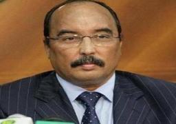 الرئيس الموريتاني يقرر تنظيم استفتاء لتمرير تعديلات دستورية