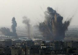 غارة إسرائيلية تستهدف مواقع للحكومة السورية شمال هضبة الجولان المحتلة