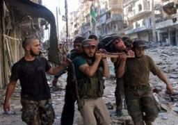 ارتفاع حصيلة القتلى من قوات النظام السوري في حقل الشاعر النفطي إلى 270