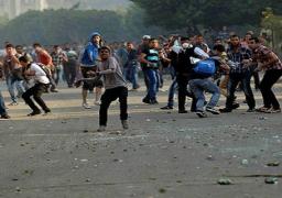 """الإخوان تشتبك مع الأمن في """"دلجا"""" بالمنيا.. والقوات تنجح في فض المسيرة"""