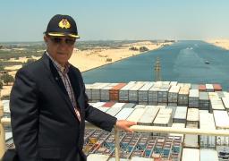 مميش: رفع 87% من الرمال المشبعة بالمياه من المجرى الملاحي لقناة السويس الجديدة