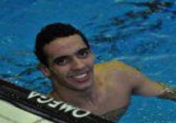 عبد العزيز يهنىء أحمد أكرم على ذهبية أوليمبياد الصين فى سباحة 800 متر حرة