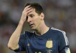 إصابة ميسي مهاجم برشلونة في مباراة فياريال