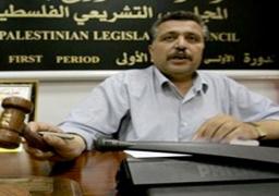 اطلاق النار على سيارة نائب رئيس المجلس التشريعي الفلسطيني