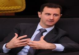 الأسد: ما تشهده سوريا والمنطقة جعل مكافحة الإرهاب أولوية