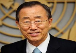 بان كي مون يدعو الدول إلى التصديق على معاهدة حظر التجارب النووية