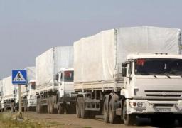 وصول قافلة مساعدات إنسانية روسية ثانية للأراضى الأوكرانية