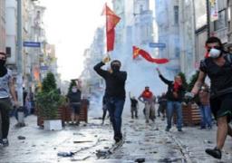 مظاهرات لمنظمة حزب التحرير الشعبية وسط إسطنبول