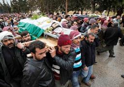 مقتل 11 مدنيا في قصف للطيران السوري في ريف حلب