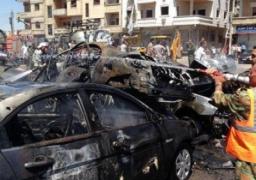 """مقتل 17 شخصا فى انفجار سيارتين مفخختين بمدينة """"حمص"""" السورية"""