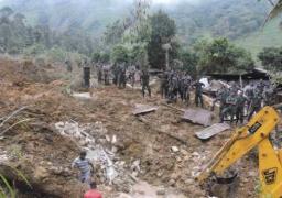 سريلانكا : 100 شخص دفنوا أحياء في انزلاق أرضي