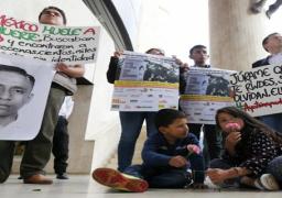 تجدد المظاهرات بالمكسيك على خلفية اختفاء 43 طالبا