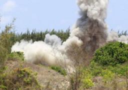 انفجار عبوة ناسفة بمحيط مدينة الشيخ زويد بدون خسائر