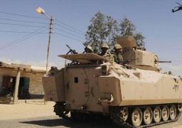 مقتل 5 تكفيريين وضبط 5 آخرين فى حملة أمنية بشمال سيناء