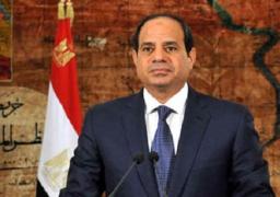 الرئيس السيسى يعود الي القاهرة