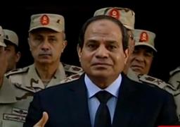 """الرئيس السيسي: """"المؤتمر الاقتصادي ذراع مصر.. لن يلويها أحد.. وسنبنيها رغم الحاقدين"""""""