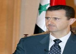 الأسد: نحصل على معلومات بشأن الهجمات الجوية الأمريكية عن طريق العراق