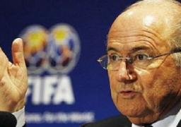 بلاتر يقترح إقامة نهائي كأس العالم 2022 في موعد أقصاه 18 ديسمبر