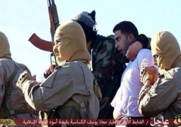 التلفزيون الأردني: الكساسبة قتل 3يناير الماضى