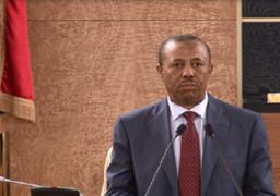 الحكومة الليبية: مجموعة من المجرمين طاردت موكب «الثني» واستهدفت سيارته