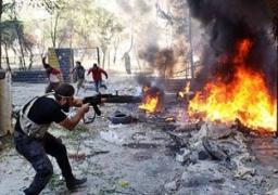 100 قتيل فى المعارك الدائرة بدرعا بين الجيش السوري والمعارضة