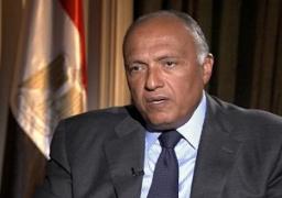 شكري: وثيقة التوافق بشأن سد النهضة الإثيوبي بداية لمزيد من التعاون بين الدول الثلاث