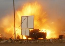 قتيلان و26 مصابا فى احباط هجوم انتحارى استهدف معسكر للامن المركزى بالعريش
