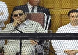 """4 أبريل.. أولى جلسات إعادة محاكمة مبارك ونجليه في قضية """"القصور الرئاسية"""""""