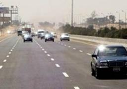 انتظام المرور بالطريق الصحراوي بالبحيرة بعد إزالة أثار تفجير برجى كهرباء