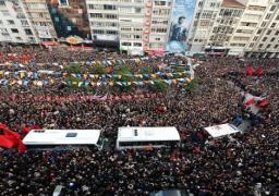 تشييع جنازة المدعى العام التركى وسط احتشاد شعبى بإسطنبول