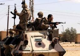 مقتل 9 تكفيريين والقبض على 8 مشتبه فيهم بشمال سيناء