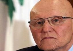 رئيس وزراء لبنان يصل القاهرة