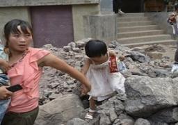 زلزال يضرب منطقة ريفية بغرب الصين ومقتل ثلاثة وانهيار آلاف المنازل