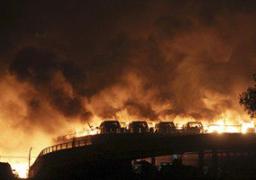 إرتفاع حصيلة انفجار مستودع الصين إلى 44 قتيلا وأكثر من 500 مصاب