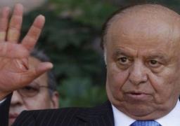 الرئيس اليمني : اتفقنا مع ترمب على ضرورة وقف التمدد الإيراني