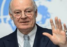 ميستورا يحث الوفد الحكومي السوري على تقديم مقترحات للانتقال السياسي الأسبوع المقبل