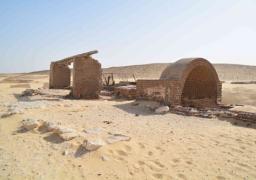 البعثة المصرية الالمانية تبدأ الحفر بجوار الساقية الآثرية بتونا الجبل بالمنيا