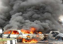 وزير الداخلية التركي : تورط داعش فى تفجير السيارة المغلومة في غازي عنتيب