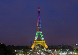 عمدة باريس : إضاءة برج إيفل مساء اليوم بألوان العلم الألماني تكريما لضحايا حادث ميونخ