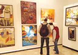 معرض تشكيلى لفنانين كويتين فى مصر