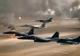 """التحالف الدولي ينفذ 21 ضربة جوية ضد أهداف لـ""""داعش"""" في سوريا والعراق"""