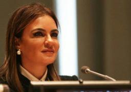 وزيرة التعاون الدولى توقع منحتين مع صندوق تطوير التعليم